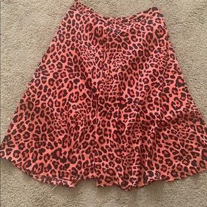 Silky statement skirt !!